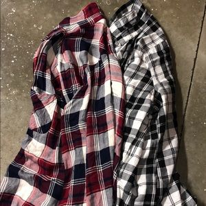 Tops - Flannel button ups